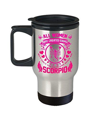 Scorpio Travel Mug - Scorpio Coffee Travel Mug - Scorpio Travel Coffee Mug - Scorpio Mug Travel - Birthday Gifts for Women Men Mom Dad