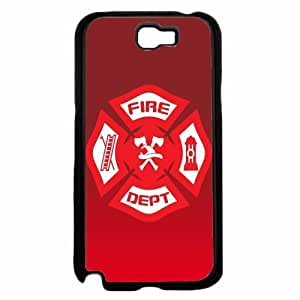 Firefighter Badge- TPU RUBBER SILICONE Phone Case Back HTC One M7