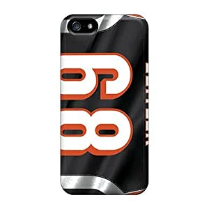 Iphone 6plus Case Cover - Slim Fit Tpu Protector Shock Absorbent Case (cincinnati Bengals)