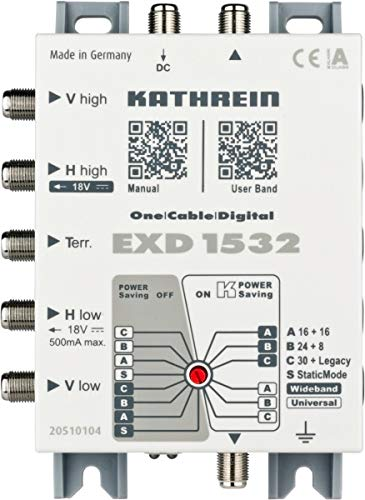 Kathrein - 1532 solo cable multi-switch exd: Amazon.es: Bricolaje y ...