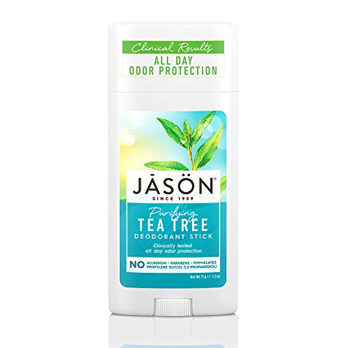 JASON Purifying Tea Tree Deoderant Stick, 2.5