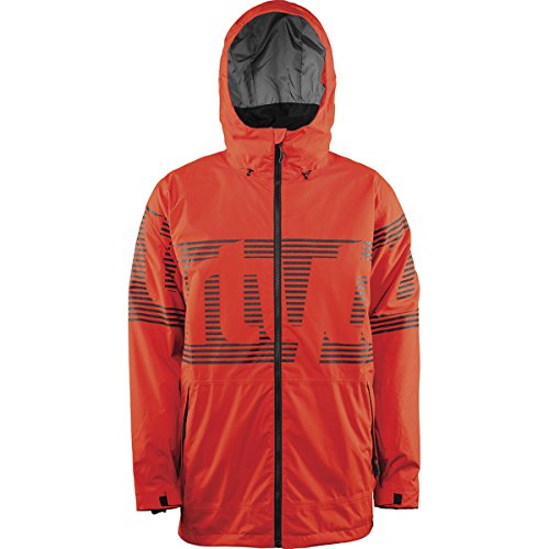 Lowdown Jacket (32 - Thirty Two Lowdown Insulated Snowboard Jacket Tangerine Mens Sz)