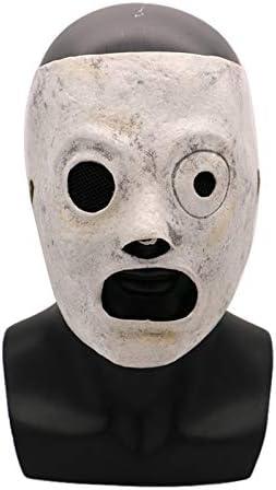 WATCBQ Maschera di Halloween Maschera Slipknot Corey Taylor Cosplay Maschere in Lattice Cantante Costume Horror Prop Masque Party Accessorio di Halloween-Maschera Slipknot