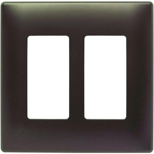 legrand-swp262dbbpcc10-pass-seymour-two-gang-screwless-decorater-wall-plate-dark-bronze-legrandswp26