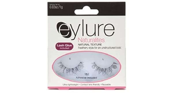 cdf24efb628 Amazon.com: Eylure Naturalites Natural Texture lashes 152 wispy feathery by  Eylure: Beauty