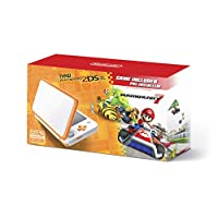 New Nintendo 2DS XL Orange w/Mario Kart 7 Pre-installed Deals