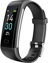 DCLife Health Exercise Watch Fitness Tracker HR, Activity Tracker Watch with Heart Rate Monitor, Waterproof Smart Fitness Band with Step Counter, Calorie Counter, Pedometer Watch for Women and Men