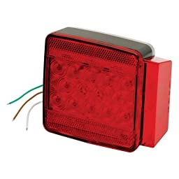 Wesbar Submersible Led Combo 6-Funct Tail Light Right 80\