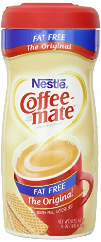 Coffee-mate Creamer Powdered Packages, Fat Free, 16 oz.