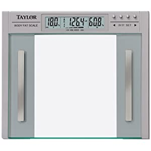 Taylor-5758f Body Fat & Body Water Scale