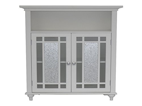 Double Door Floor Cabinet (Elegant Home Fashions ELG-529 Whitney Double Door Floor Cabinet)