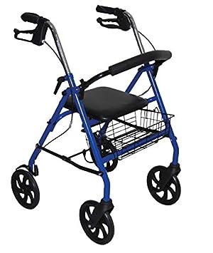 Andador - Patinete plegable con 4 ruedas: Amazon.es: Salud y ...