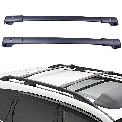 Roof Racks & Boxes Trustful Car Accessories 2 Pcs Aluminium Alloy Roof Rack Rail Lamp Tie Cross Bar Shelf Universal Luggage Carrier