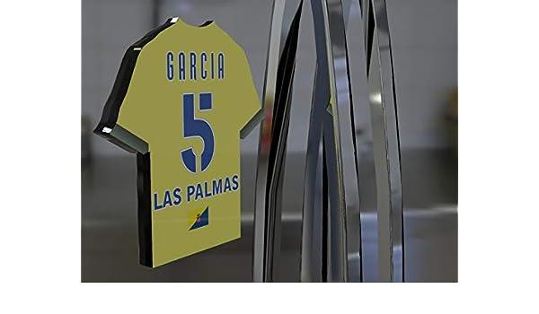 Imán para frigorífico con diseño de camiseta de fútbol de la primera división de la Liga Española, material acrílico, personalizable, plástico, Ud Las Palmas Football Fridge Magnet: Amazon.es: Hogar