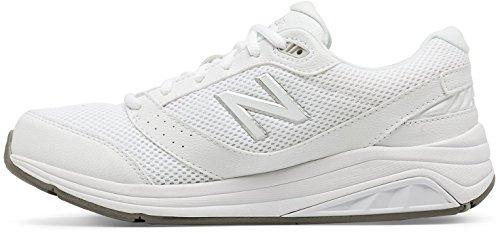 New Balance Women's Womens 928v3 Walking Shoe Walking Shoe, White/White, 8 D US