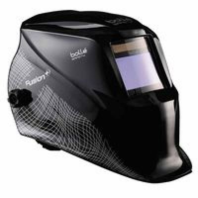 Bolle 40121 Safety Fusion+ Welding Helmet with Electo-Optical Filter, Black (Bolle Metals)