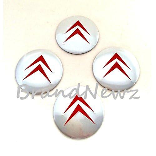 Lot de 4/enjoliveurs 16/pouces Logo Rouge