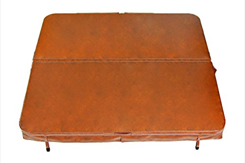 Core Covers Spa Cover-Vinyl 96x96x4 Sierra Red, 96'' x 96'' x 4'' by Core Covers
