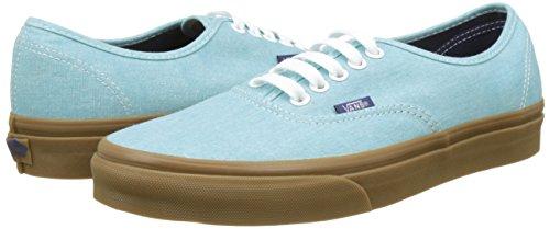 Homme Canvas Sneakers Basses washed Vans Bleu Ua Authentic wcq0EECagI