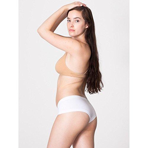 American Apparel - Culote de algodón y lycra modelo Hot de mujer Rojo
