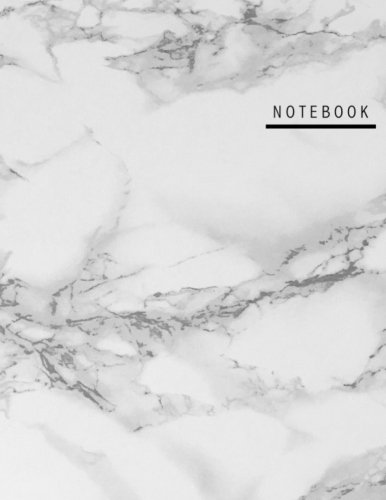 Lila Unruled Blank Notebook, 100 pages, Marble, Large (8.5 x 11 inches) (Best Jobs Without College Education)