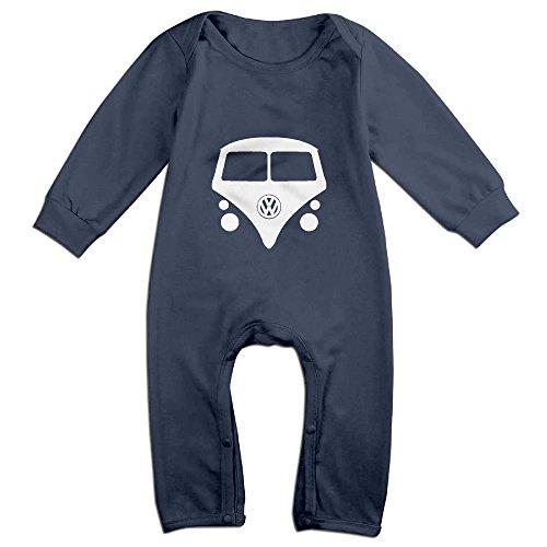 Cute Camper Bodysuit For Infant Navy Size 12 Months