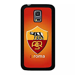 Graceful Samsung Galaxy S5 Mini Hard Protector Associazione Sportiva Roma Phone Case with A.S.Roma Pattern