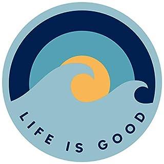 Life is Good. Magnet: Wave Sunrise