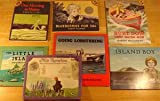Maine Picture Books set of seven: One Morning in Maine, Burt Dow Deep Water Man, Blueberries for Sal, Miss Rumphius, Island Boy, The Little Island, Going Lobstering