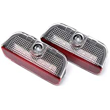 2Pcs Welcome Laser Logo Projector Lamps For Porsche Cayenne 958 911 Boxster CARRERA4 MACAN S3 S4 Car Courtesy Ghost Shadow Light