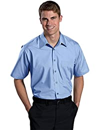 Men's Big and Tall Short Sleeve Broadcloth Shirt