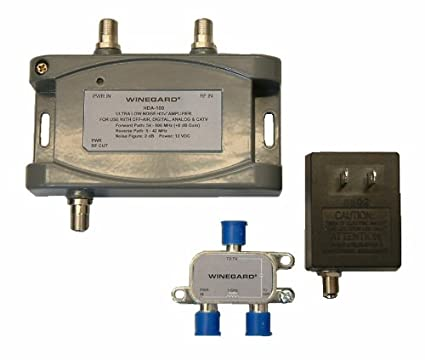 Winegard HDA-100 Distribution Amplifier 5-1000 Mhz 15dB, One Size