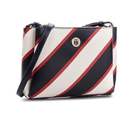 932f4b4cf9784 Tommy Hilfiger Aw0Aw05687 Crossbody Bag For Women - Corporate Chevron