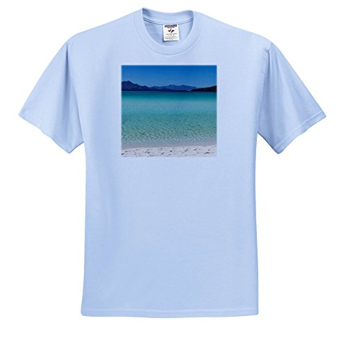 Coronado 12 Light (3dRose Danita Delimont - Oceans - Mexico, Baja California Sur, Isla Coronado, Tropical Beach and Waters. - T-Shirts - Light Blue Infant Lap-Shoulder Tee (12M) (TS_258518_76))