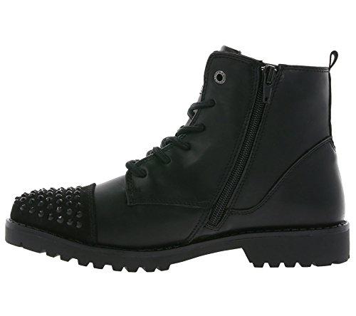 Bruno Banani 252 251, Rangers Boots Femme, Noir Noir (Black 002)