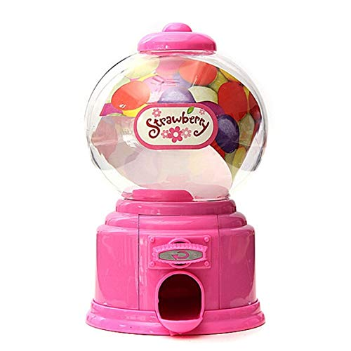Mini Basketball Bank - Candy Machine - Home Plastic Candy Machine Money Bank Gift Storage Box Presents Amp Lover Pink - Toys Vintage Pink Plastic Activated Basketball Containers Globe Black Quarter