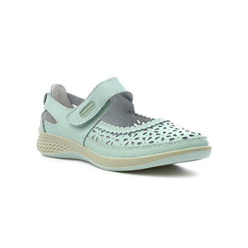 Cushion Walk Womens Mint Leather Bar Casual Shoe Green 5bzJLNgt2