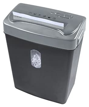 Royal Machines Cx66 6-sheet Cross Cut Shredder With Auto Startstop & Reverse - Black With Silver Top 1