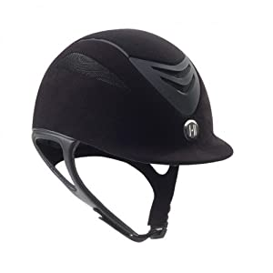 One K Defender Suede Helmet Large Black Matte