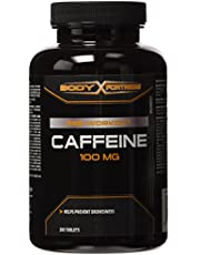 Body Fortress Caffeine, Helps Prevents Drowsiness, 100mg, 200 Tablets