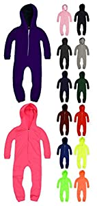 Kids Unisex Onesie New Boys Girls Childrens Hooded All In One
