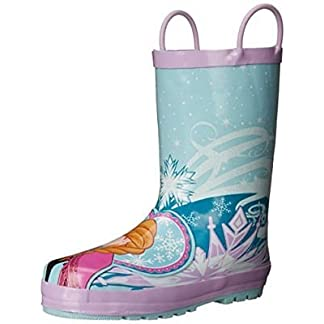 Western Chief Kids' Waterproof Disney Character Rain Boots with Easy on Handles