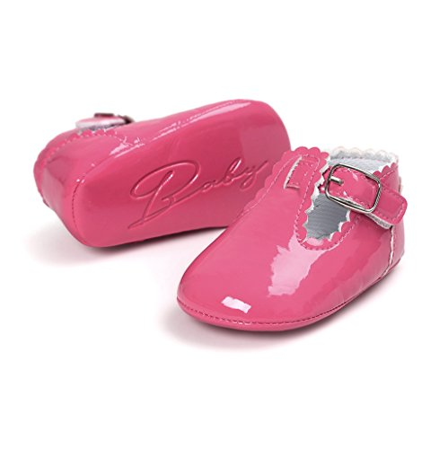 965b2ce5 ... Primeros zapatos para caminar,Auxma La princesa del bebé Sola suave  calza las zapatillas de