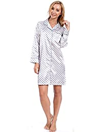 Patricia Women's Soft Satin Pajama Sleepwear Set