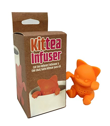 Purchase Charmed Kitty Kittea Cat Tea Infuser color orange