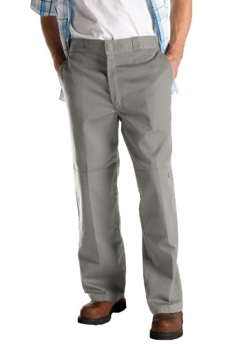 Work Pantalon Homme Dickies D knee Silver Grey qapfEfAxw