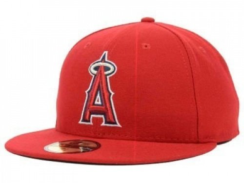 New Era Los Angeles Angels MLB Authentic Collection 59FIFTY On Field Cap NewEra 59Fifty: 7 1/4