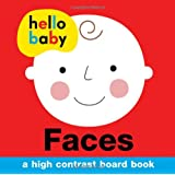 Hello Baby: Faces: A High-Contrast Board Book