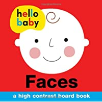 Hello Baby: Faces: A High-Contrast Board Book