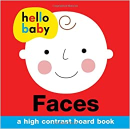 buy hello baby faces a high contrast board book book online at low